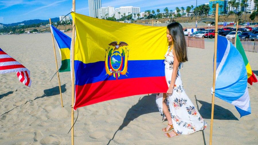 Me withEcuadorian Flag