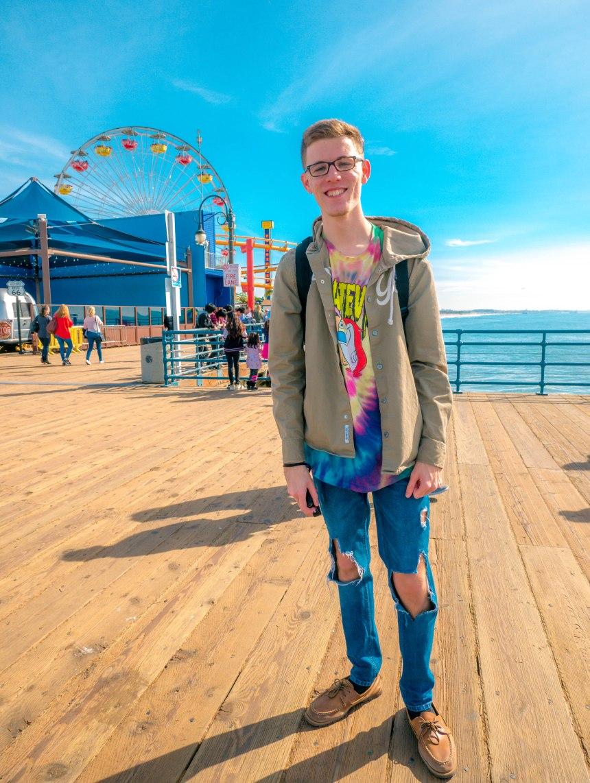 Ryan at pier