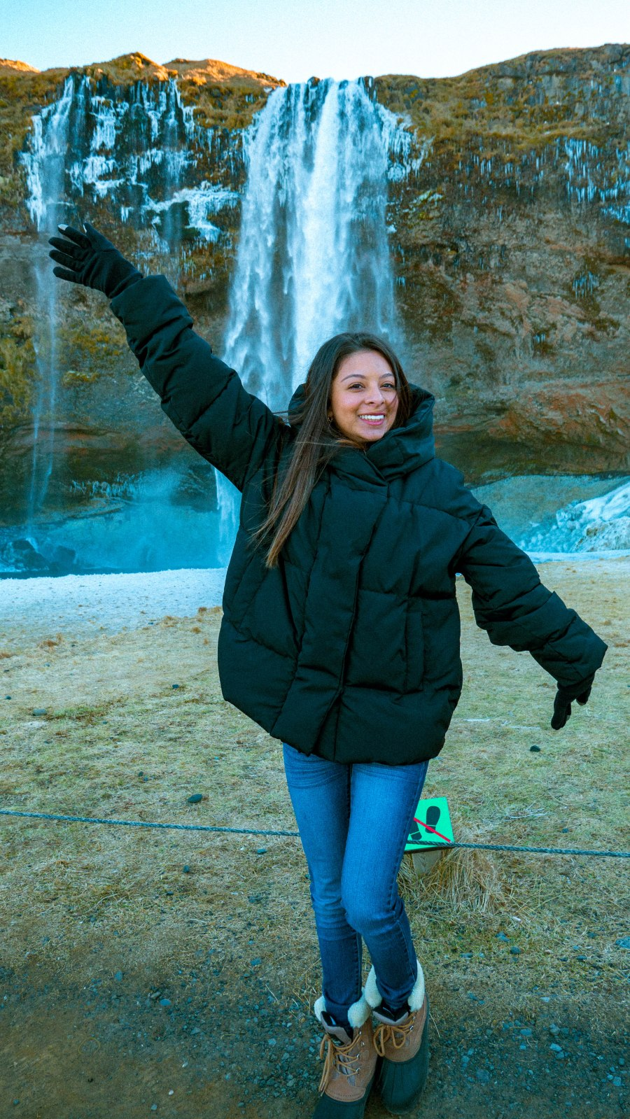 Andrea smile waterfall 7